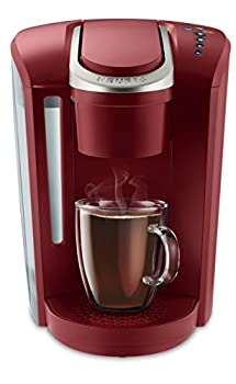 Keurig K-Select Coffee Maker Single Serve K-Cup Pod Coffee Brewer With Strength Control and Hot Water On Demand Vintage Red