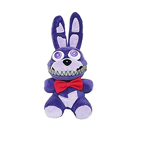 Five Nights at Freddy's Plush ToysAll Character Stuffed Animal Doll Children's Gift Collection ByLEXSmith (Purple Bonnie Rabbit)
