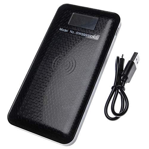 vhbw Power Bank Batteria Esterna Compatibile con Nokia Lumia 1520, 735, 830, 920, 928, 930, 950, 950 Dual Sim, 950XL dispositivi (10000mAh Nero)