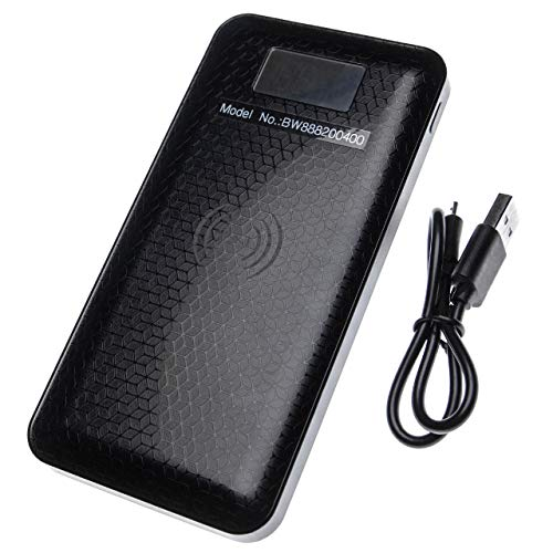 vhbw Powerbank Backup Akku passend für Motorola Droid Turbo 2 Geräte (10000mAh schwarz)