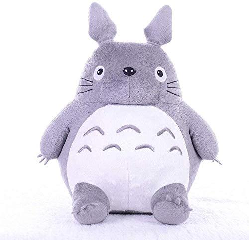 Cojín Totoro Hayao Miyazaki muñeca de la Felpa de la Felpa Animal de la Almohadilla por Embroma Regalo de la decoración y de cumpleaños (Size : 65cm)