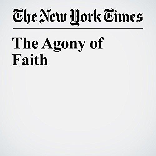 The Agony of Faith copertina