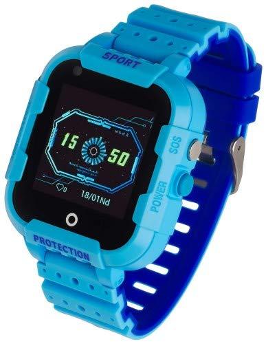 Garett Kinder 4G Smartwatch, Blau