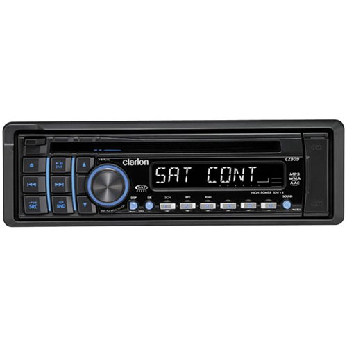 Clarion CZ309 CD/MP3/WMA/AAC Receiver and USB Port