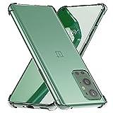 ebestStar - Funda Compatible con OnePlus 9 Pro Carcasa Gel Silicona, ángulos Reforzados, Ultra Claro Case Cover, Transparente [Phone: 163.2 x 73.6 x 8.7 mm, 6.7'']
