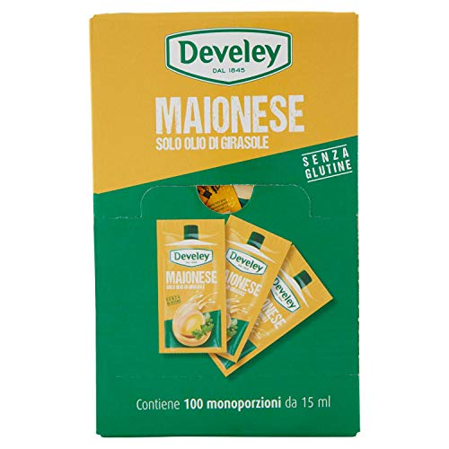 Develey - MAIONESE MARSUPIO CON OLIO DI GIRASOLE - GRANDE FORMATO - 1500 GR