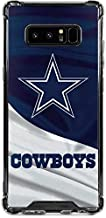 Skinit Clear Phone Case for Galaxy Note 8 - Officially Licensed NFL Dallas Cowboys Design