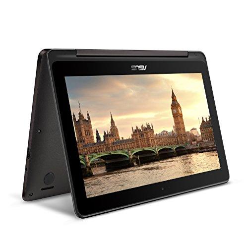 ASUS VivoBook Flip TP201SA-DB01T 1.6GHz N3060 11.6' 1366 x 768pixels Touchscreen Grey notebook - notebooks (N3060, Touchpad, Windows 10 Home, Polymer, Intel Celeron, 50/60 Hz)