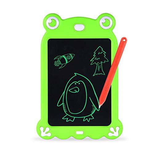 LHTY LCD-Schreibplatte, Karikatur-elektronisches Reißbrett, Handschrifts-Papier-Zeichentablett für Kindererwachsenes zu Hause Schulbüro