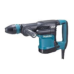 Makita HM0871C Crushing Hammer for SDS-MAX 1.110 W, Black, Blue