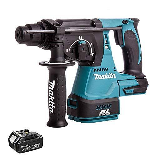 Makita DHR242Z 18v Brushless SDS+ Rotary Hammer Drill + 1 x 5.0ah BL1850 Battery