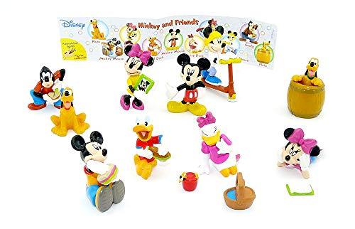 Kinder Überraschung, Mickey and Friends Figuren von Rübezahl u. Koch