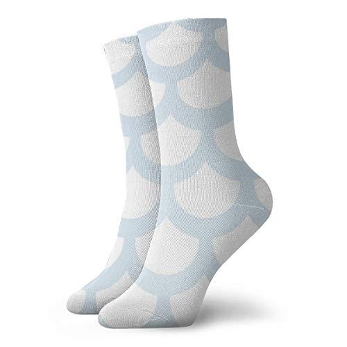 BJAMAJ - Calcetines Unisex de poliéster con diseño de balanza Blanca, Calcetines de algodón para Adultos