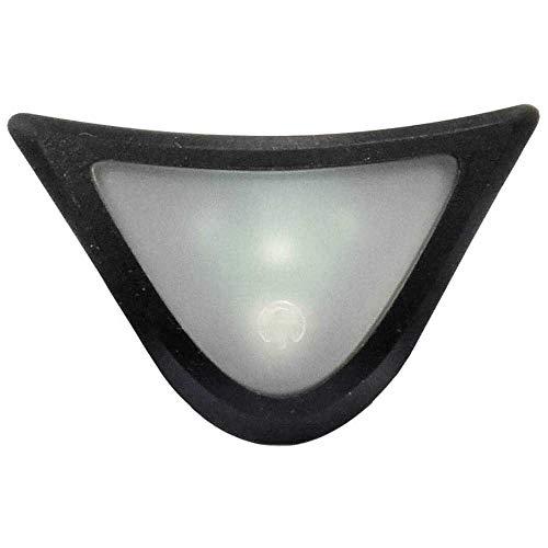 Alpina Unisex– Erwachsene Plug-IN-Light III Fahrradhelmzubehör, transparent, One Size