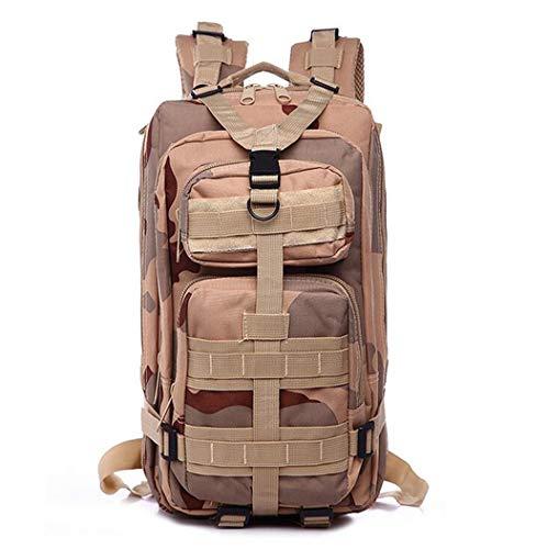 25L 3P mochila táctica militar ejército al aire libre bolsa mochila hombres camping senderismo deportes pack escalada bolsas, Hombre, 9, as picture