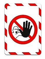 tarifold 安全標識用ディスプレイポケット 粘着タイプ A4 2枚入り 禁止 194973