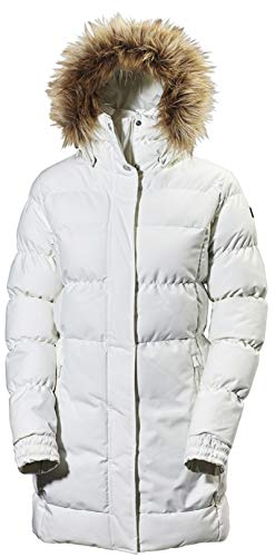 Helly Hansen Damen W Blume Puffy Parka, Off White, XL