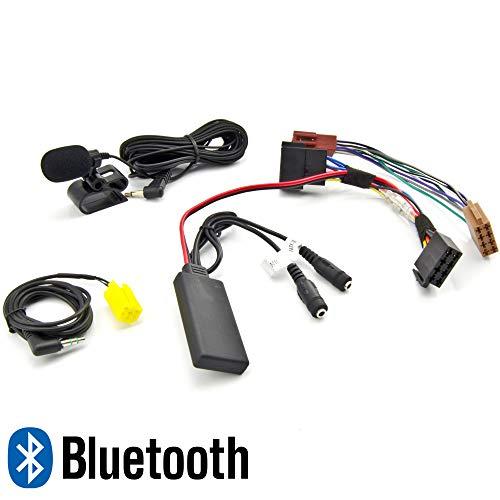 WATERMARK Vertriebs GmbH & Co. KG Bluetooth AUX Adapter SMART Fortwo 451 ab 2007 MP3 SPOTIFY FREISPRECHEN TELEFONIEREN