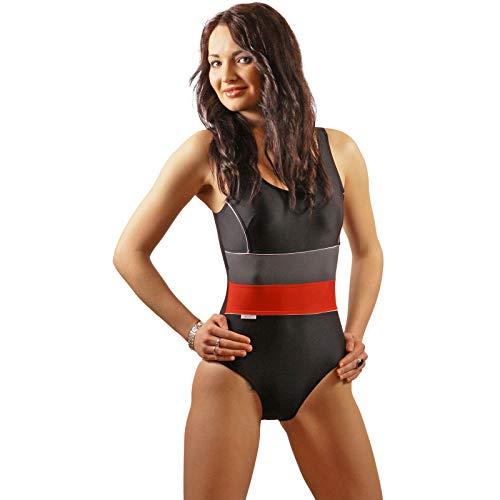 STANTEKS Damen Badeanzug Klassischer Schwimmanzug mit Schwimmerrücken SK0024 (38)