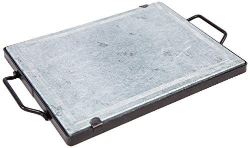 FALCI 265pd3050t Specksteinplatte mit Gestell aus Eisen, Stein