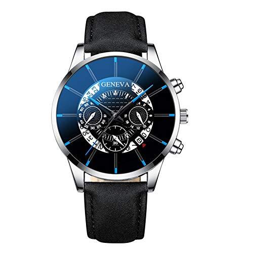 Relojes para hombres Relojes de pulsera de lujo de cuarzo deportes para hombre Reloj de pulsera de cuero casual para hombres relojes relojes estudiante Majestado Despacho de venta de relojes para homb