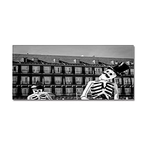 NTtie Suave Alfombra para salón Dormitorio baño sofá Silla cojín Alfombrilla Antideslizante Personalizada con Estampado de Calaveras