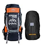 Mount Track Adventure Series 55 Ltrs Rucksack for Hiking & Trekking with Shoe