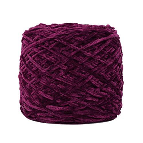 Lemoning Gold Velvet Yarn Roving Scarf Knit Wool Yarn Thickness Warm Hat Household L