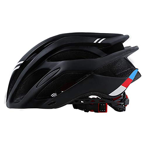 Moligin Cap Bicicleta de montaña Casco de Montar tamaño Fresco Seguridad Vial el Equipo de Ciclo de Las Mujeres de los Hombres del Deporte al Aire Negro.