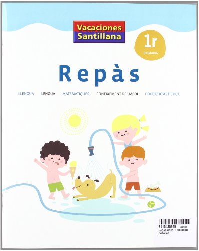 Primària - 1PRI Vacances Repàs General Catalá (Catalán) - 9788415435662