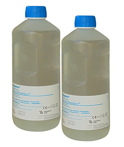 Ampuwa 2x1000ml Plastipur Aqua steriles, pyrogenfreies Wasser Fresenius