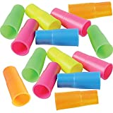 ArtCreativity Siren Whistles for Kids - Pack of 12, Durable Plastic Siren Noise Maker Party Whistles, Bright Assorted Colors, Birthday Party Favors, Piñata Fillers, Treasure Box Prizes