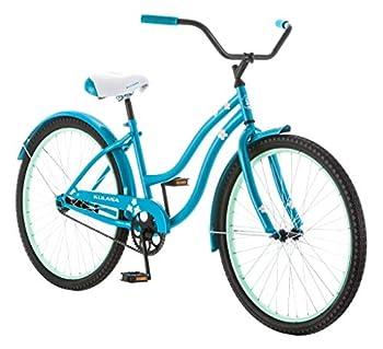 Kulana Hiku Cruiser Bike 26-Inch Wheels Blue