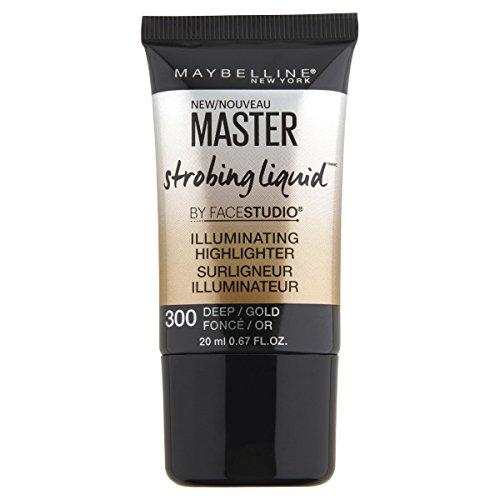 MAYBELLINE Facestudio Master Strobing Liquid Illuminating Highlighter - 300 Deep/Gold