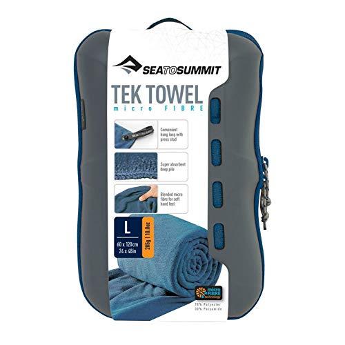 Sea to Summit - Serviette Tek Towel Bouclette L Unique - Bleu