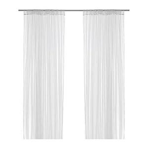 IKEA LILL - Sheer curtains, 1 pair, white - 280x300 cm