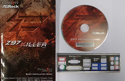 ASRock Fatal1ty Z97 Killer - Handbuch - Blende - Treiber CD