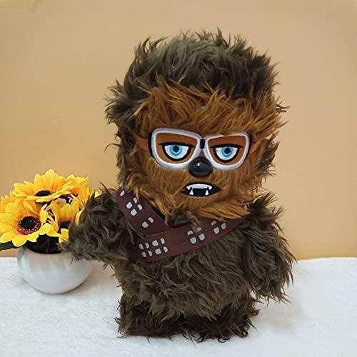 beibeiwang Dibujos Animados Anime película Star Wars Personajes de Dibujos Animados Chewbacca muñecos de Peluche de Juguete 30cm Regalos de cumpleaños de Navidad para niños