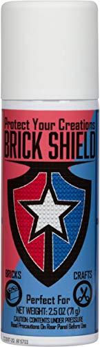 BrickShield Plastic Brick Glue Spray (3 Pack) - Temporary Glue for Bricks, Blocks, and More. Non-Toxic! Made in USA!