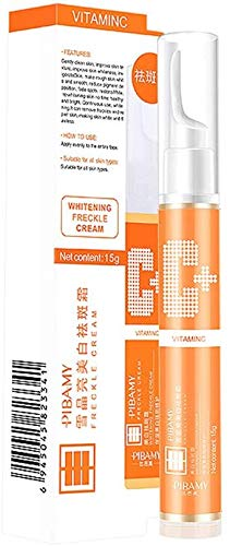 15ml Instant Blemish Removal Gel VC Whitening Freckle Serum, Vitamin C Facial Whitening Anti-Aging Serum Brighten Skin Care for Neutral, Universal, Oily, Dry, Sensitive, Mixed