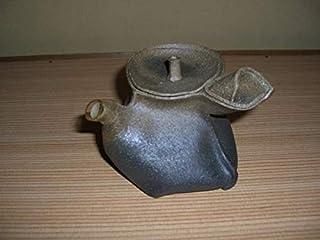 急須 陶器 万古焼 林克次 手捻り 斬新なデザイン コレクション品