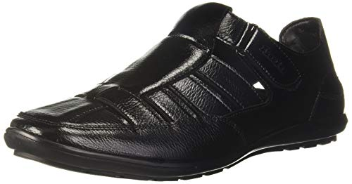 BATA Men Remo-Grass-Aw16 M1 Black Loafers-8 (8516771)
