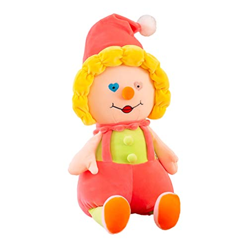 Nargut Soft Toys/Plüschkissen, Creative Circus Clown Doll Cure Plüschtier Kids Plüschtiere Mehrfarbiges Dekorationspuppengeschenk