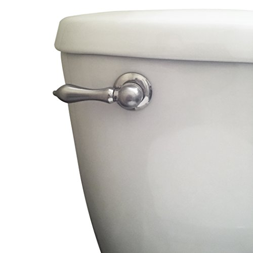 Danco Company 89449 Nickle PVD Toil Tank Lever Toilet Handle, Brushed Nickel