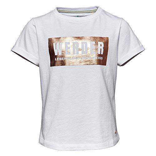 Werder Bremen - Camiseta para niña (164), color blanco