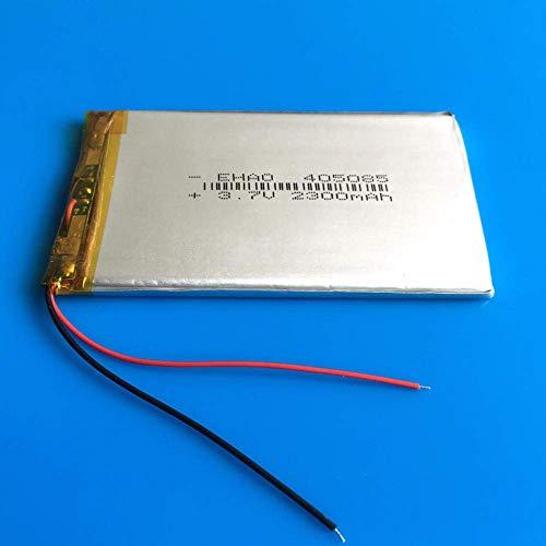 Batería de Respaldo de Alto Rendimiento 405085 3.7V 2300mAh Batería Recargable lipo Polymer Lithium Cells para GPS DVD Power Bank Tablet PC Pad PDA Laptop Camera PSP 1pcs