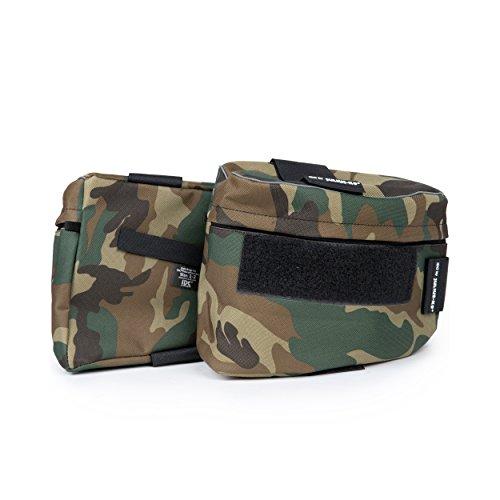 Julius-K9, 1622NT-IDC-AM, IDC®-Seitentaschen / Paar für IDC®-Powergeschirr Größe: 0, camouflage
