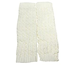 SOFT MATERIAL - The cable knit leg warmers are made of acrylic. Comfortable and elastic fabric to keep you warm. Great to use for fashion and warmth with boots or booties. The thick boot cuffs effectively block the cold wind and give you extra warm. ...