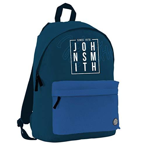 John Smith M20204 Mochila, Unisex niños, Azul Marino, Talla Única