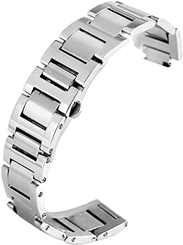 ZJSXIA Watch Max 53% OFF Strap Silver Popular brand Stainless Steel 12mm 11mm 9mm P